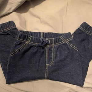 "Stretchy pants ""jeans"" for baby"